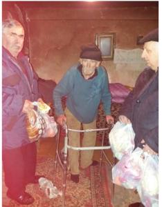 Oude man in Nicolesti