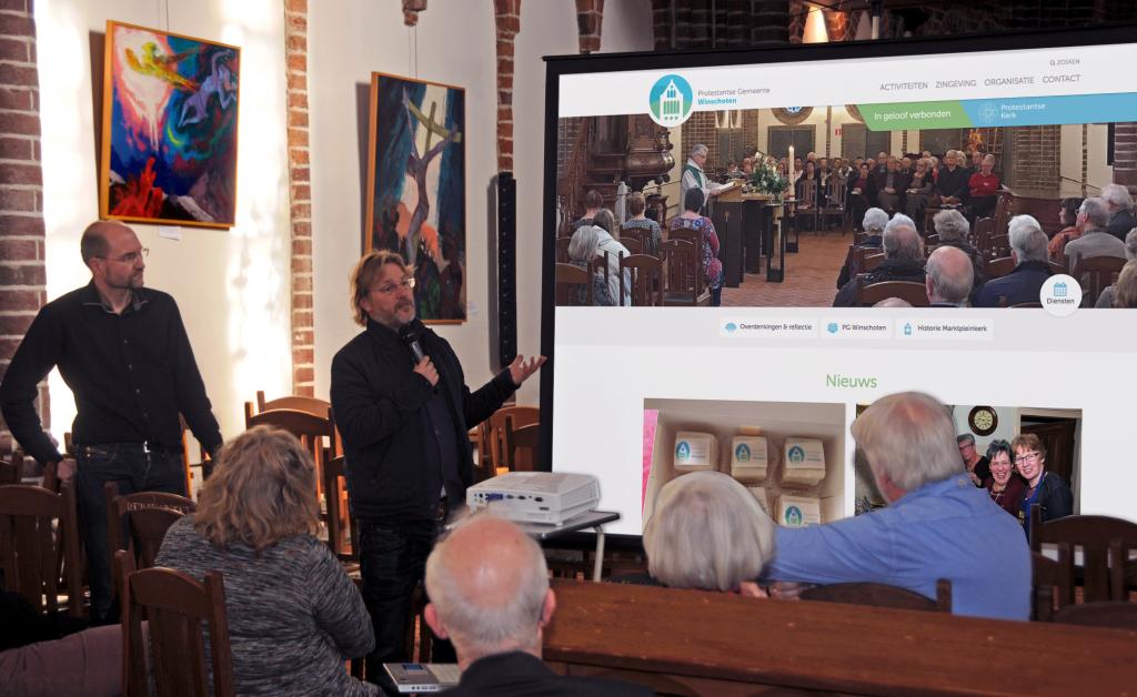 presentatie website - johan van der woude