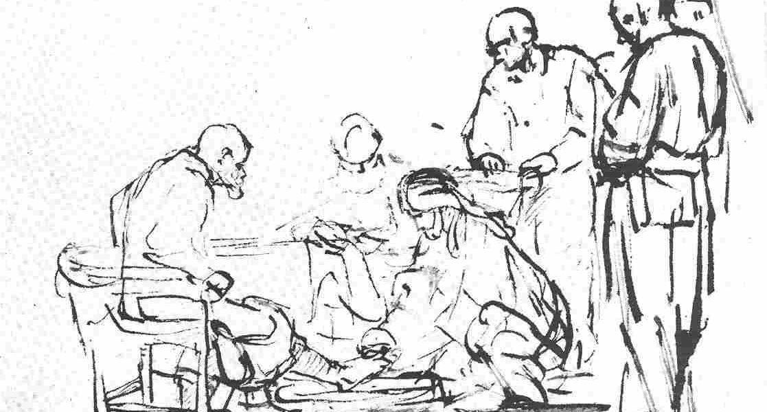 rembrandt ets voetwassing