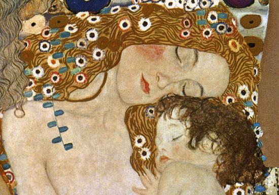 Verwonderlijk Gustav Klimt moeder en kind - Protestantse Gemeente Winschoten IN-79