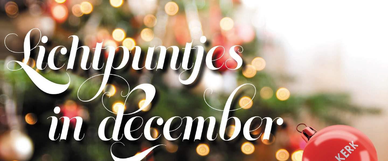 Lichtpuntjes in december