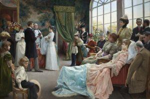 Schilderij: The Baptism